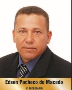 vereador Edson Pacheco de Macedo